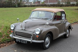 Morris Minor Convertible 1967 - To be auctioned 31-01-20