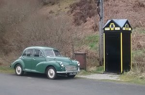 1956 Morris Minor 1000 Split Screen 4dr Saloon