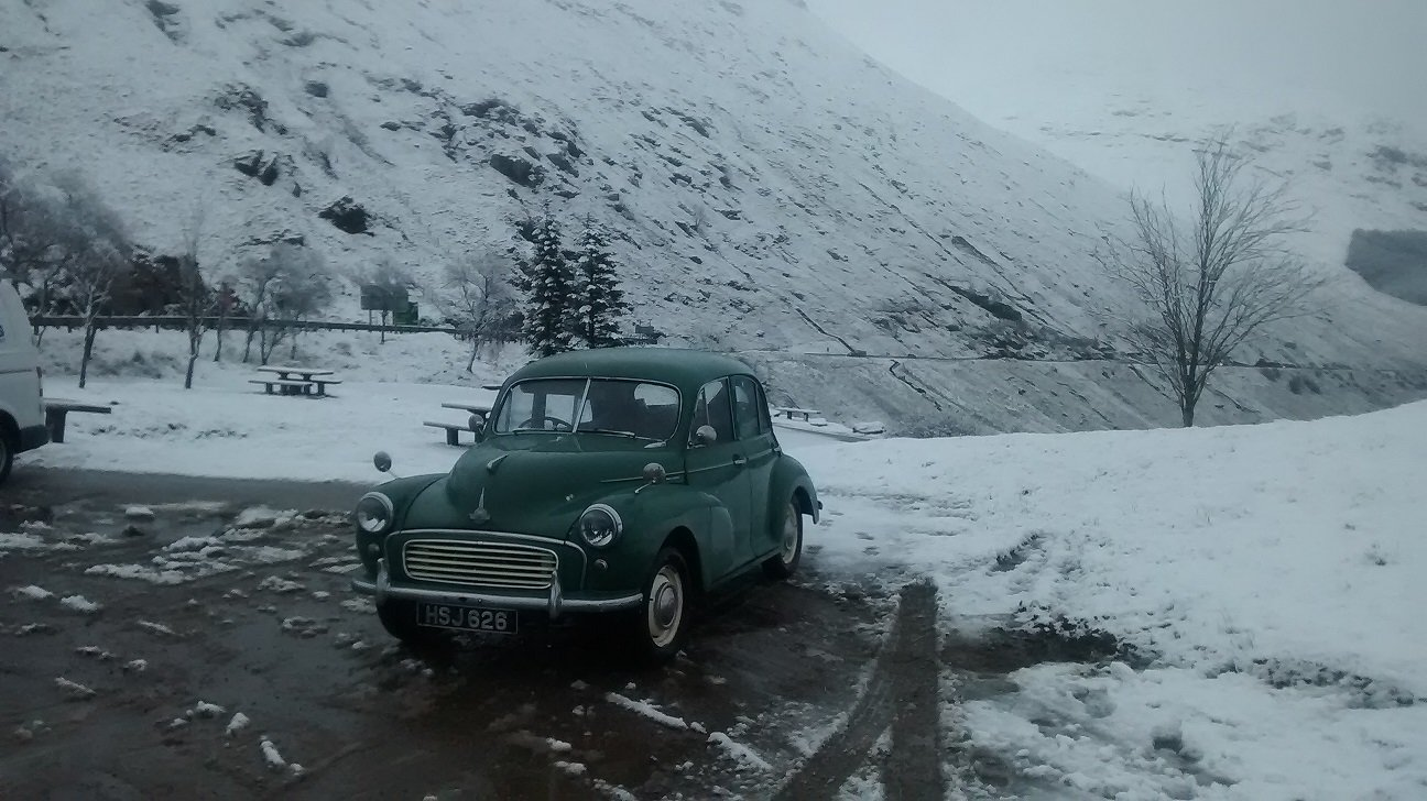 1956 Morris Minor 1000 Split Screen 4dr Saloon For Sale (picture 2 of 6)