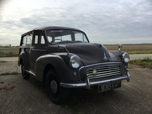 1962 Morris minor traveller ready to use