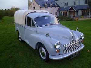 Austin Morris 1000 pick up totally restored