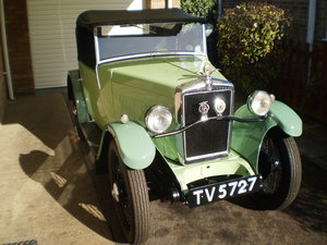 1932 Morris Minor 2 Seater Convertible