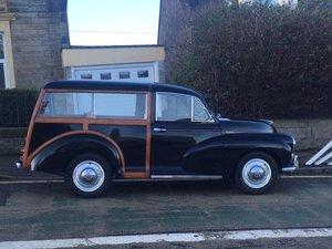 1972 Morris 1000 traveller
