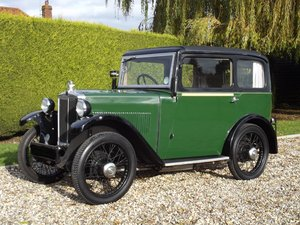 1932 Morris Minor Saloon - lovely example of Morris's baby SOLD