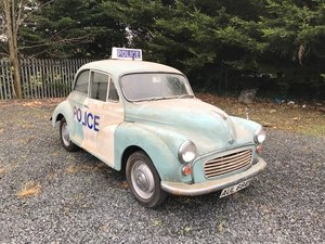 1969 Morris Minor 1000 Barn Find SOLD by Auction