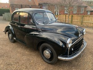 1953 Morris Minor SOLD by Auction