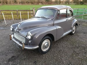 1963 Morris Minor 1000 Tourer Deluxe (Original Factory Conve SOLD