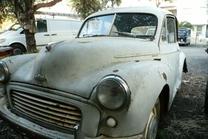Morris Minor split screen 2 doors 1000cc
