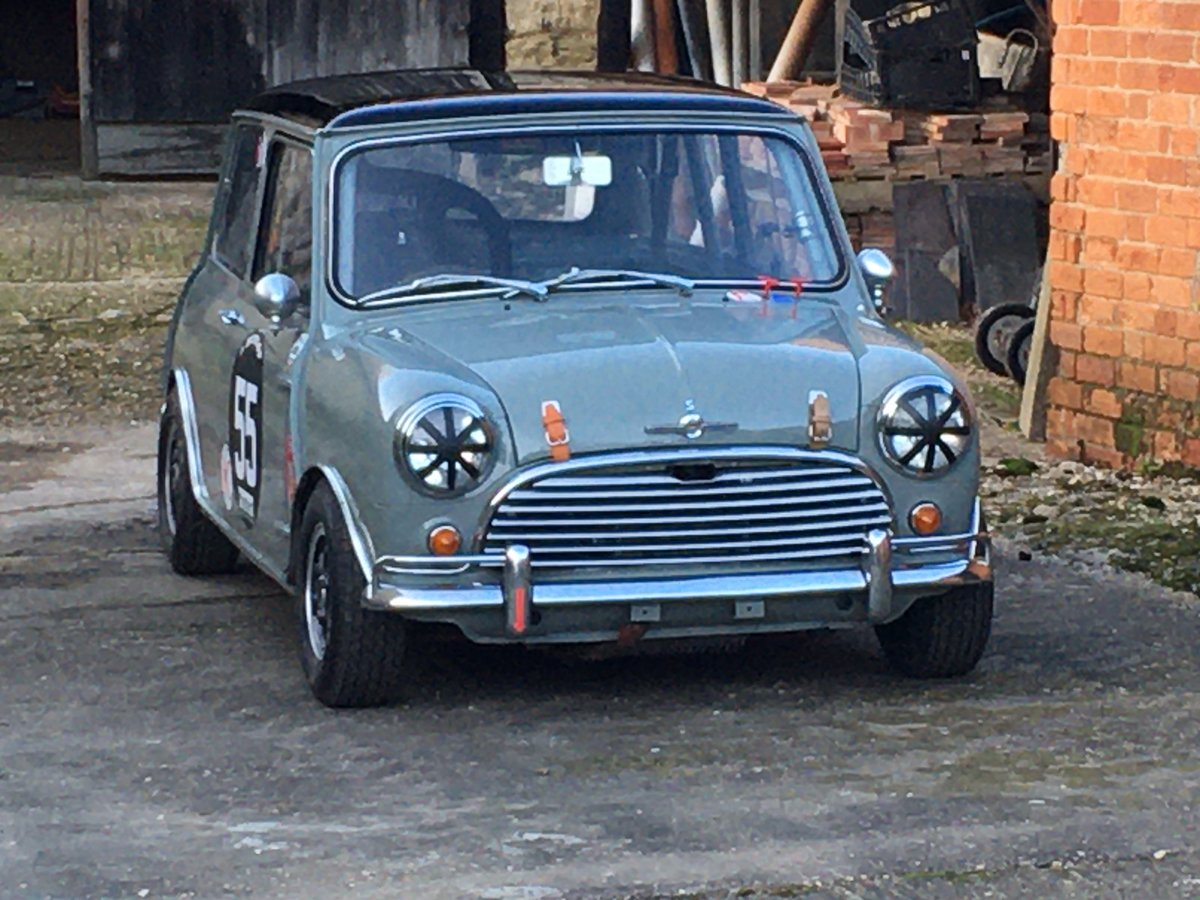 1965 Mini Cooper 1275 S Full race FIA Appendix K car For Sale (picture 1 of 6)