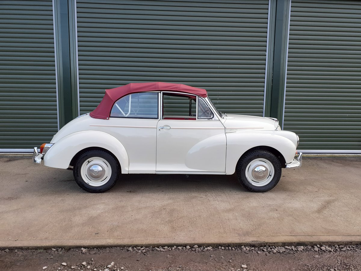 1966 Morris Minor Convertible  SOLD (picture 2 of 6)