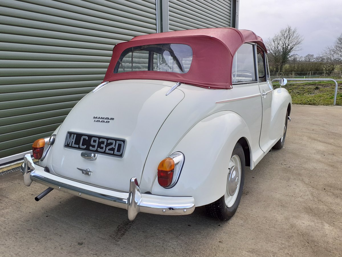 1966 Morris Minor Convertible  SOLD (picture 3 of 6)