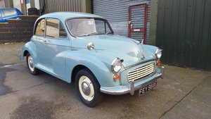 1967 Morris Minor 2 door saloon For Sale