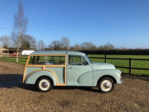 1963 Minor Traveller Woody 1098cc
