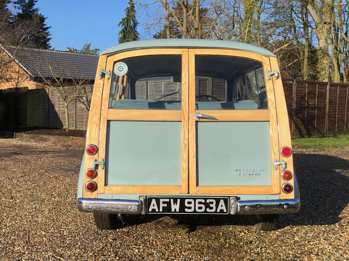 1963 Minor Traveller Woody 1098cc SOLD (picture 5 of 6)