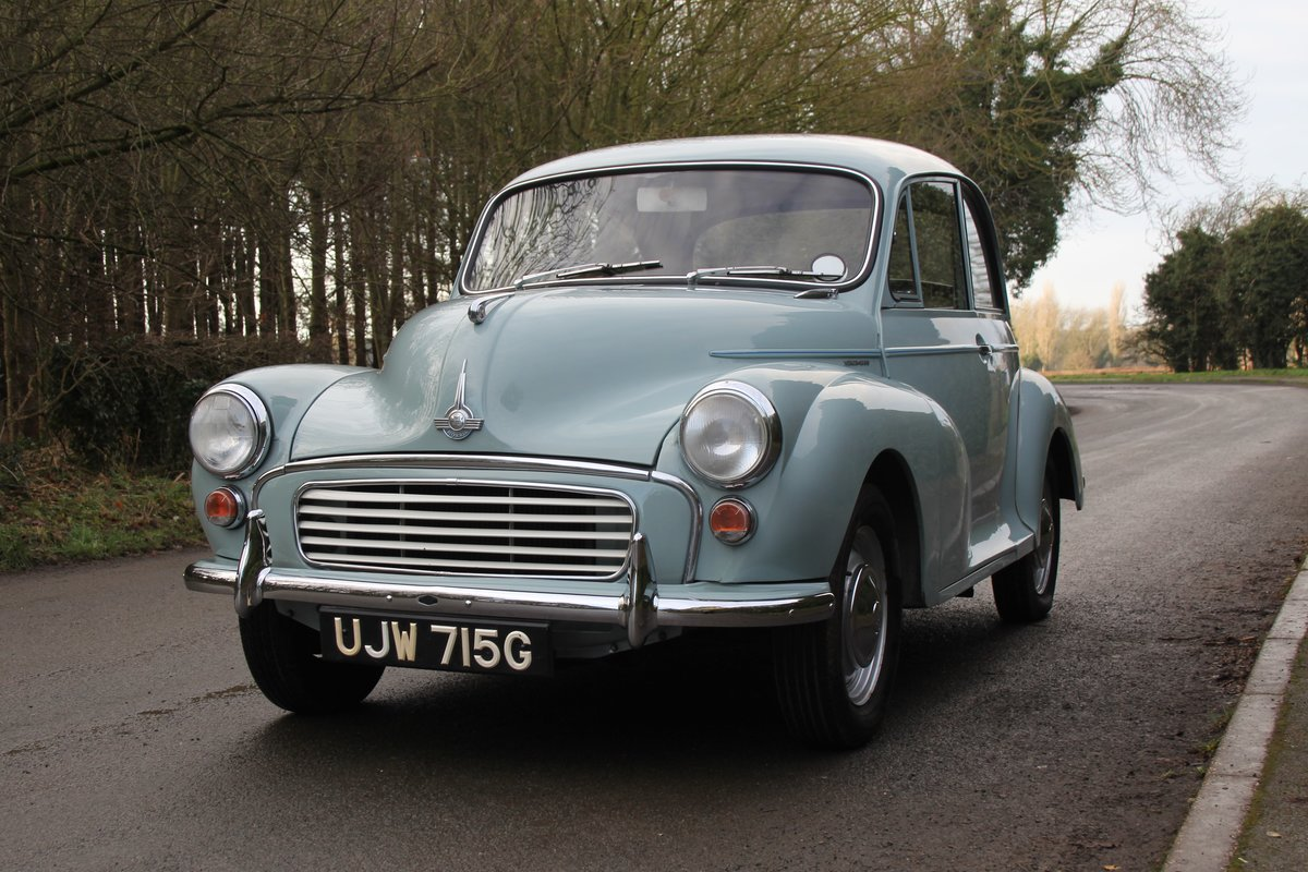 1968 Morris Minor 1000 Deluxe, 1 owner 50 Years For Sale (picture 3 of 19)