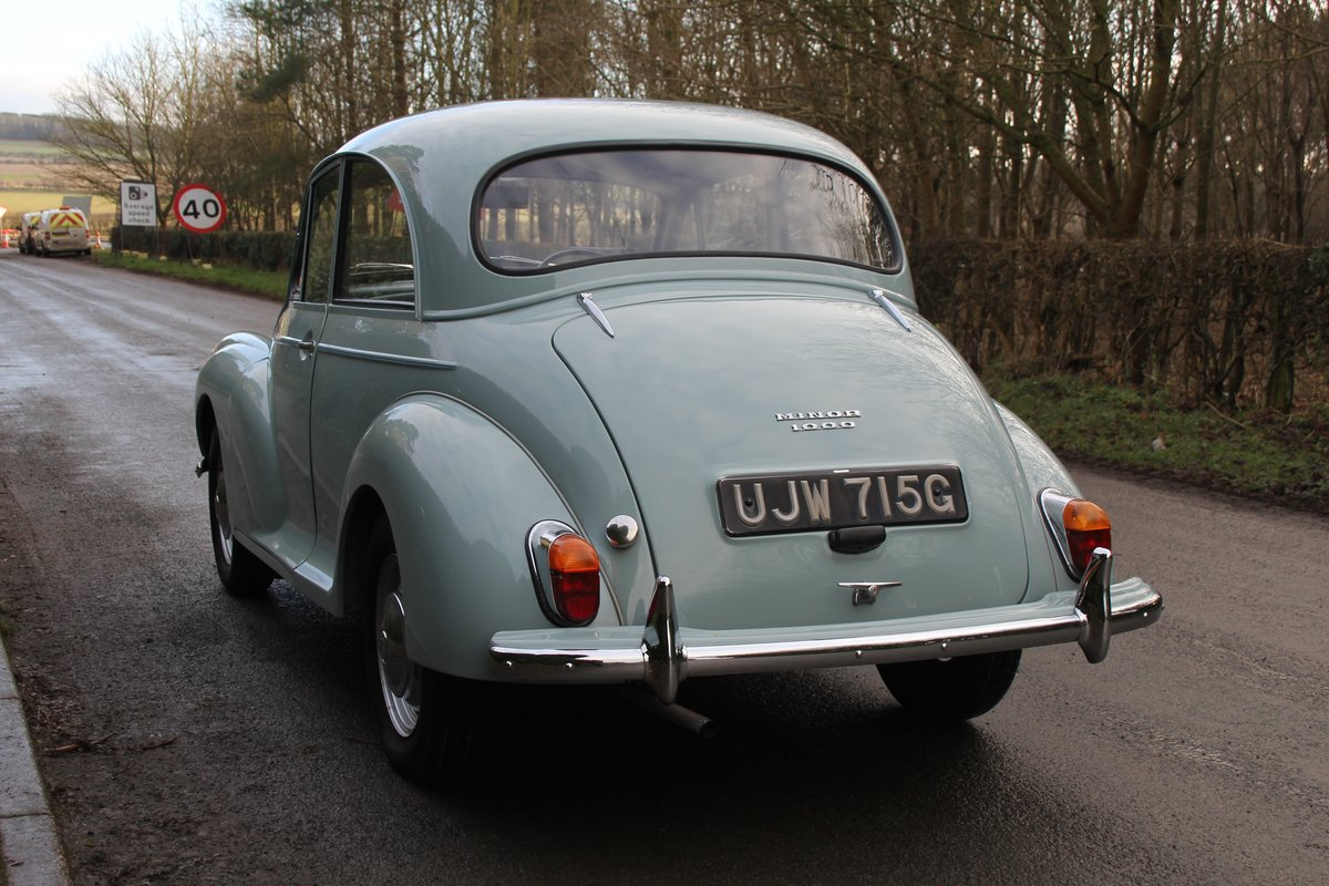 1968 Morris Minor 1000 Deluxe, 1 owner 50 Years For Sale (picture 4 of 19)