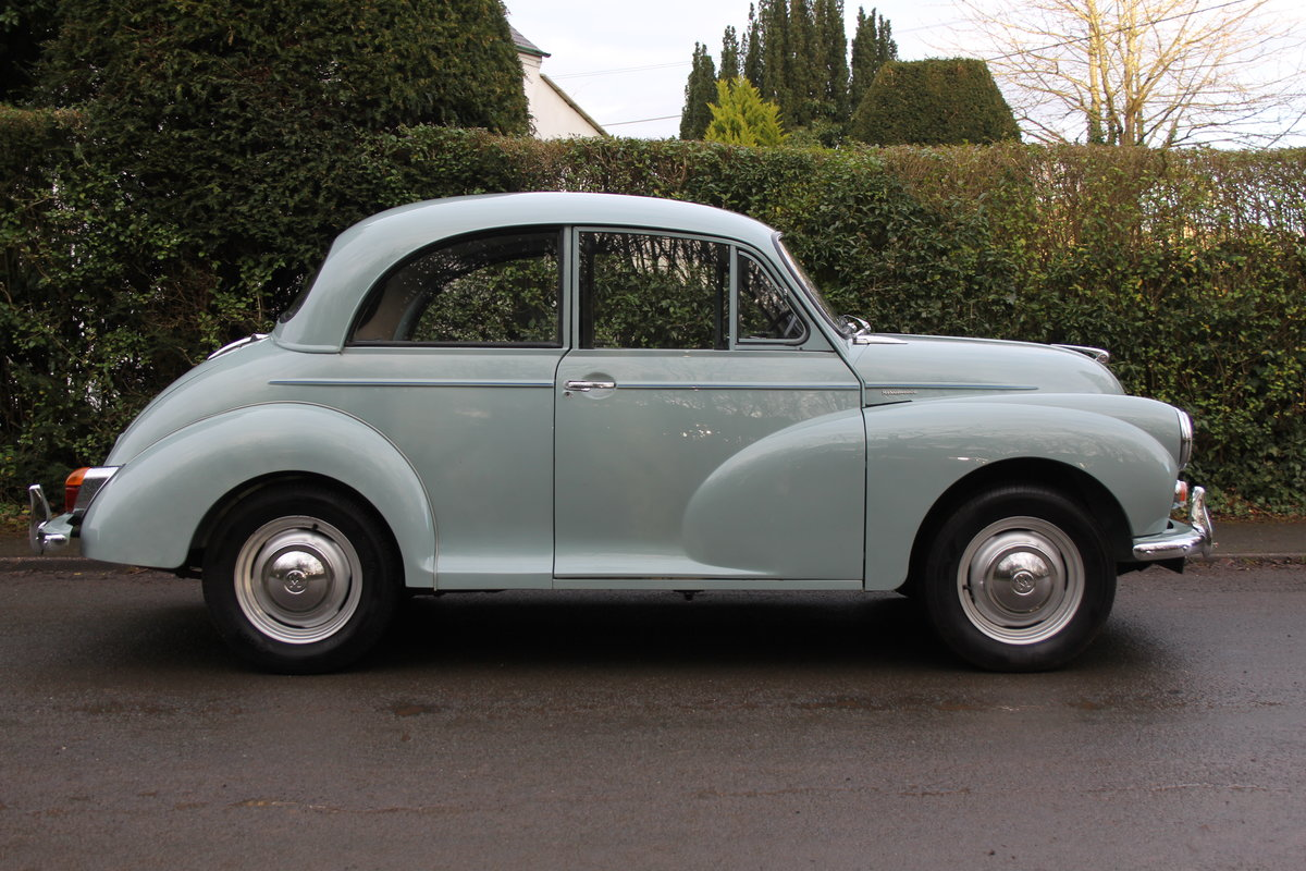 1968 Morris Minor 1000 Deluxe, 1 owner 50 Years For Sale (picture 7 of 19)