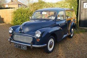 Morris Minor Traveller 1098cc Fine Example 1970 For Sale
