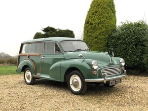 1970 1971 Morris Minor Traveller Only 2 Owners From New