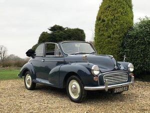 1964 Morris Minor Convertible. Last Owner 18 Years.