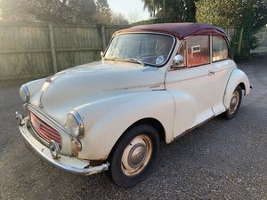 1959 Morris Minor Convertible SOLD by Auction