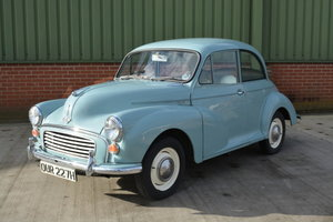 1970 Morris Minor 1000 For Sale by Auction