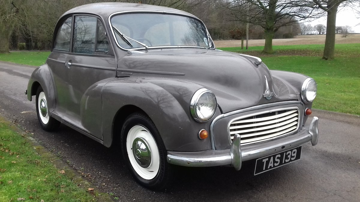 1962 MORRIS MINOR 1000 'ROSIE' ~ NICE ENTRY CLASSIC!!!    SOLD (picture 1 of 6)