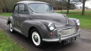 1962 MORRIS MINOR 1000 'ROSIE' ~ NICE ENTRY CLASSIC!!!    SOLD