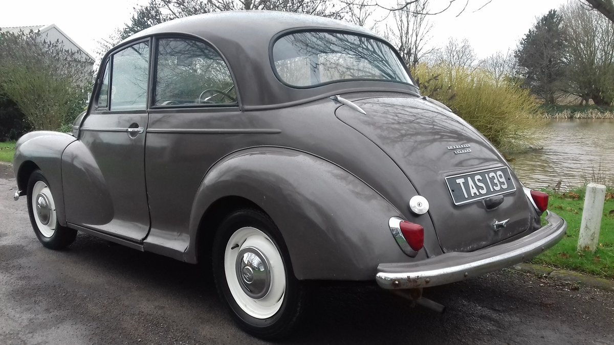 1962 MORRIS MINOR 1000 'ROSIE' ~ NICE ENTRY CLASSIC!!!    SOLD (picture 2 of 6)