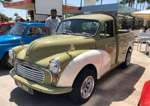 1966 Morris minor pick up