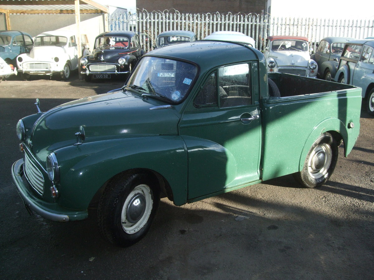 1968 ALMOND GREEN PICK-UP, RECENT FULL RESTORATION  For Sale (picture 2 of 2)