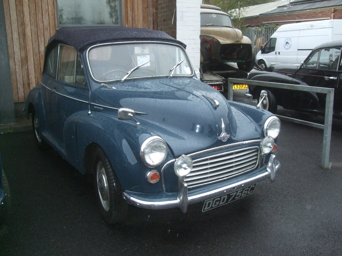 1965 CONVERTIBLE CONVERSION  Tralgar Blue For Sale (picture 1 of 2)