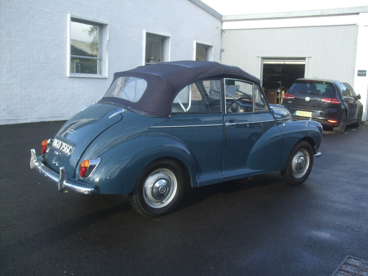 1965 CONVERTIBLE CONVERSION  Tralgar Blue For Sale (picture 2 of 2)