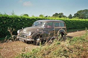 Picture of 1968 Morris Minor Traveller Hire Yorkshire | Self drive For Hire
