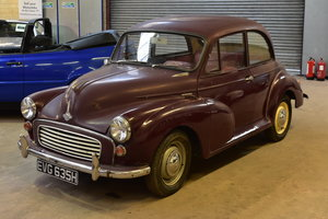 Lot 32 - A 1969 Morris Minor 1000 two door saloon-09/2/2020 For Sale by Auction