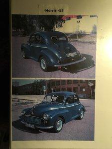 Morris Minor 1000 Saloon 1953 LHD