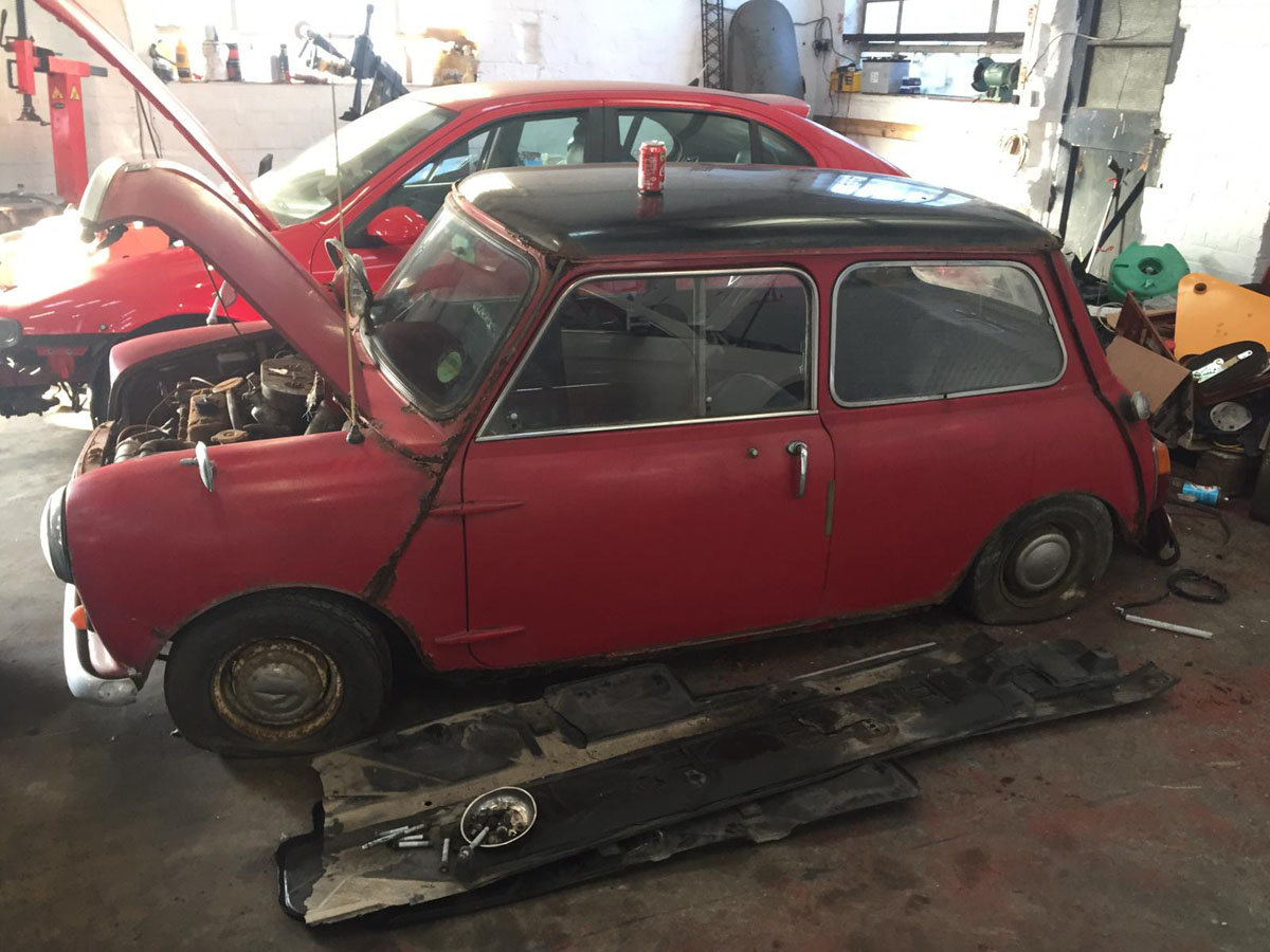 1968 Morris Mini Cooper 22 Feb 2020 For Sale by Auction (picture 1 of 3)