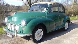 1962 MORRIS MINOR TOURER 'FACTORY CONVERTIBLE' (MAT) ~ VALUE!!