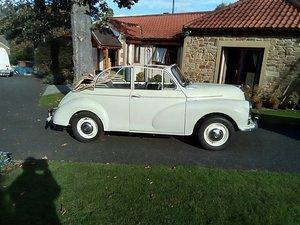 1968 Morris MInor Convertible Factorginal (MAT) 2 Owner For Sale