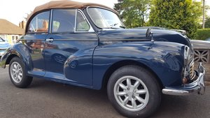 1961 Morris Minor converted saloon For Sale