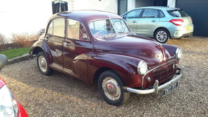 1954 split screen morris minor 4 door years mot For Sale