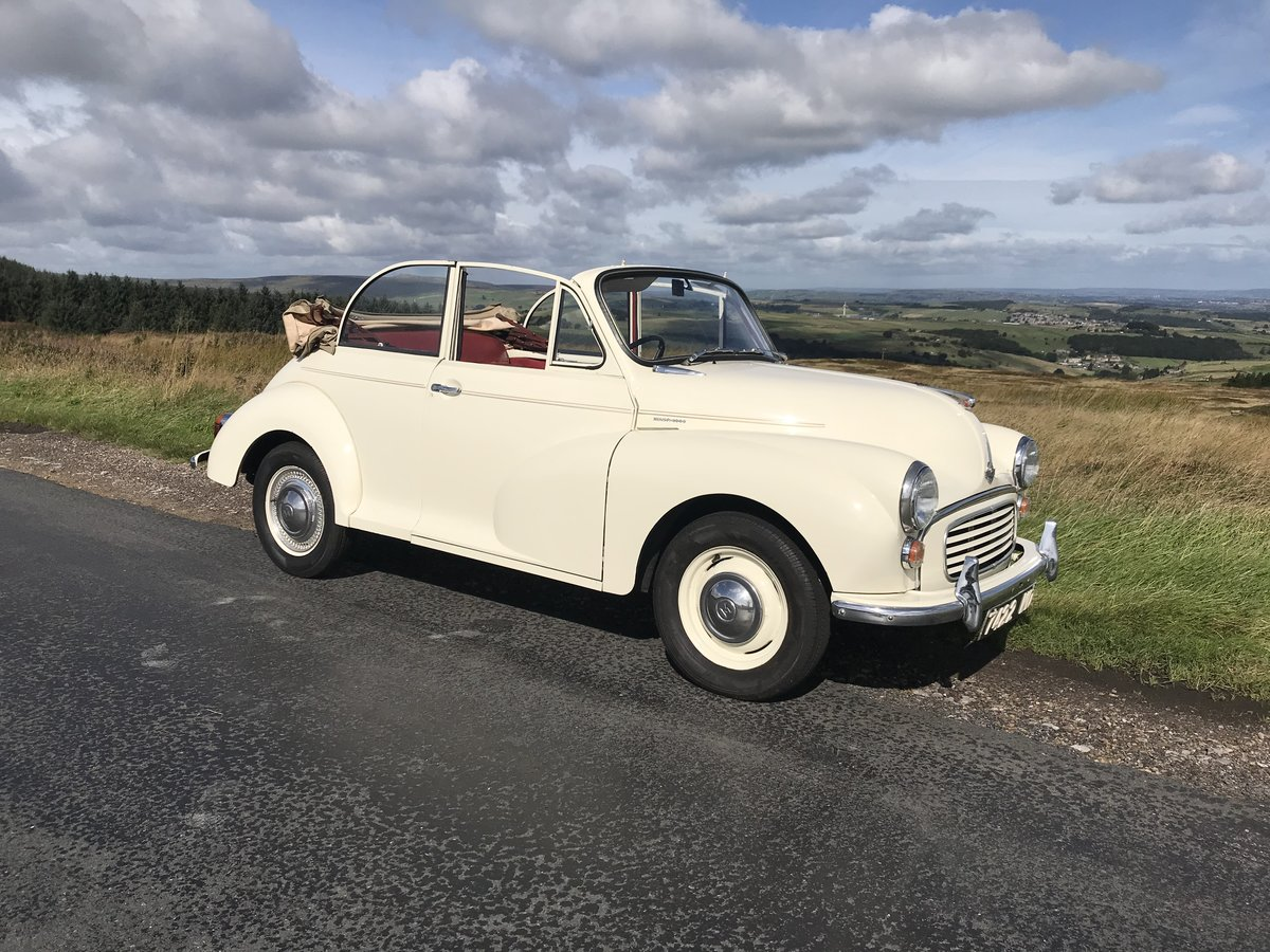 1961 Morris Minor Convertible For Sale (picture 1 of 9)