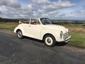 Picture of 1961 Morris Minor Convertible NOW SOLD For Sale