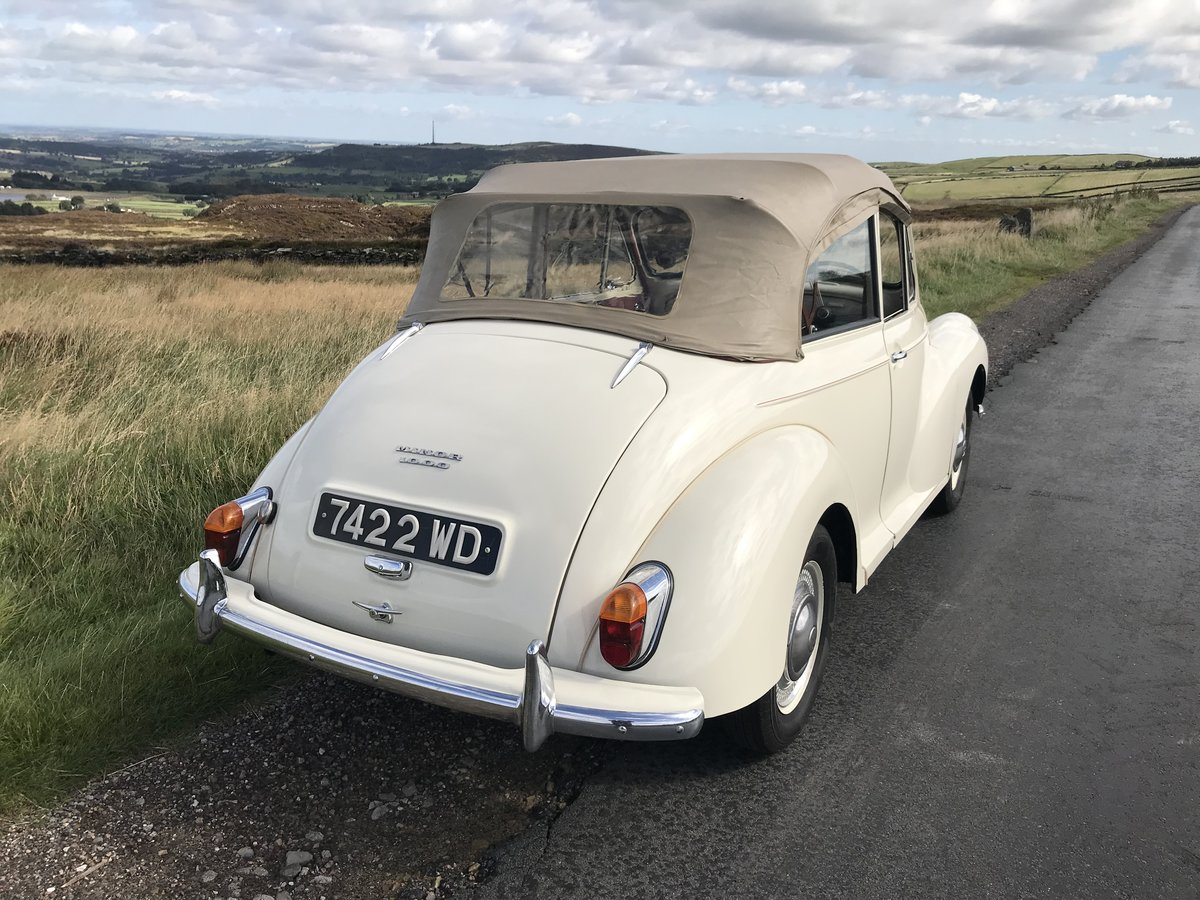1961 Morris Minor Convertible For Sale (picture 4 of 9)