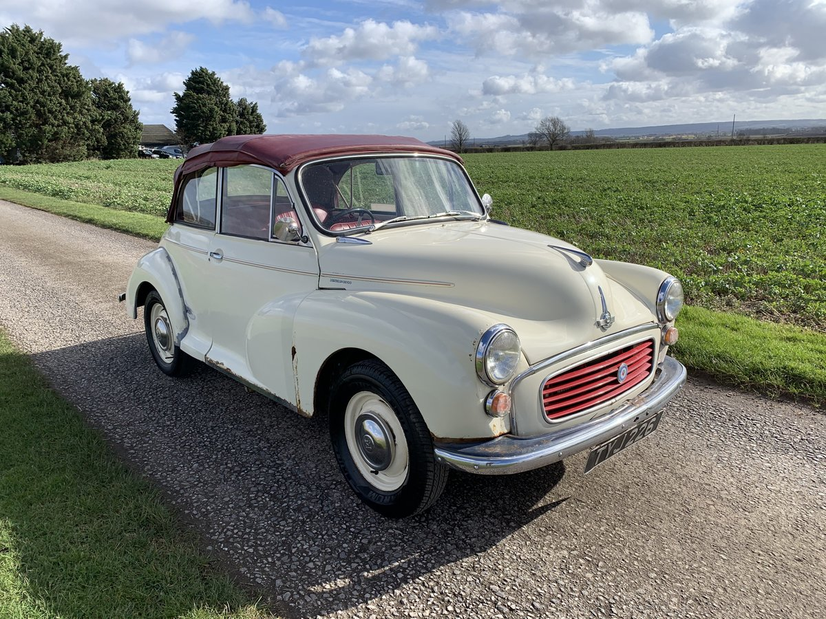 1959 Morris Minor Convertible Usable Classic Needing Tlc Sold Car And Classic