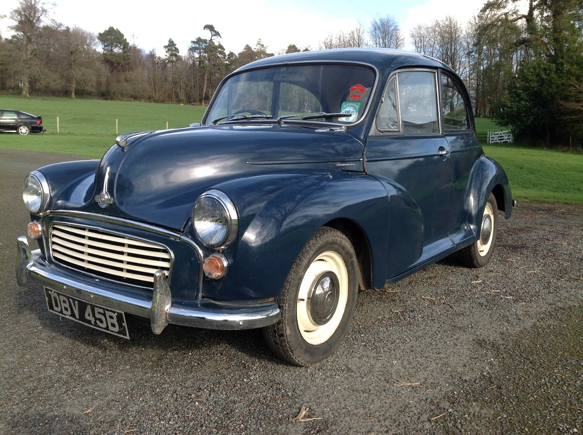 1964 Morris Minor 2 Door  For Sale (picture 1 of 5)