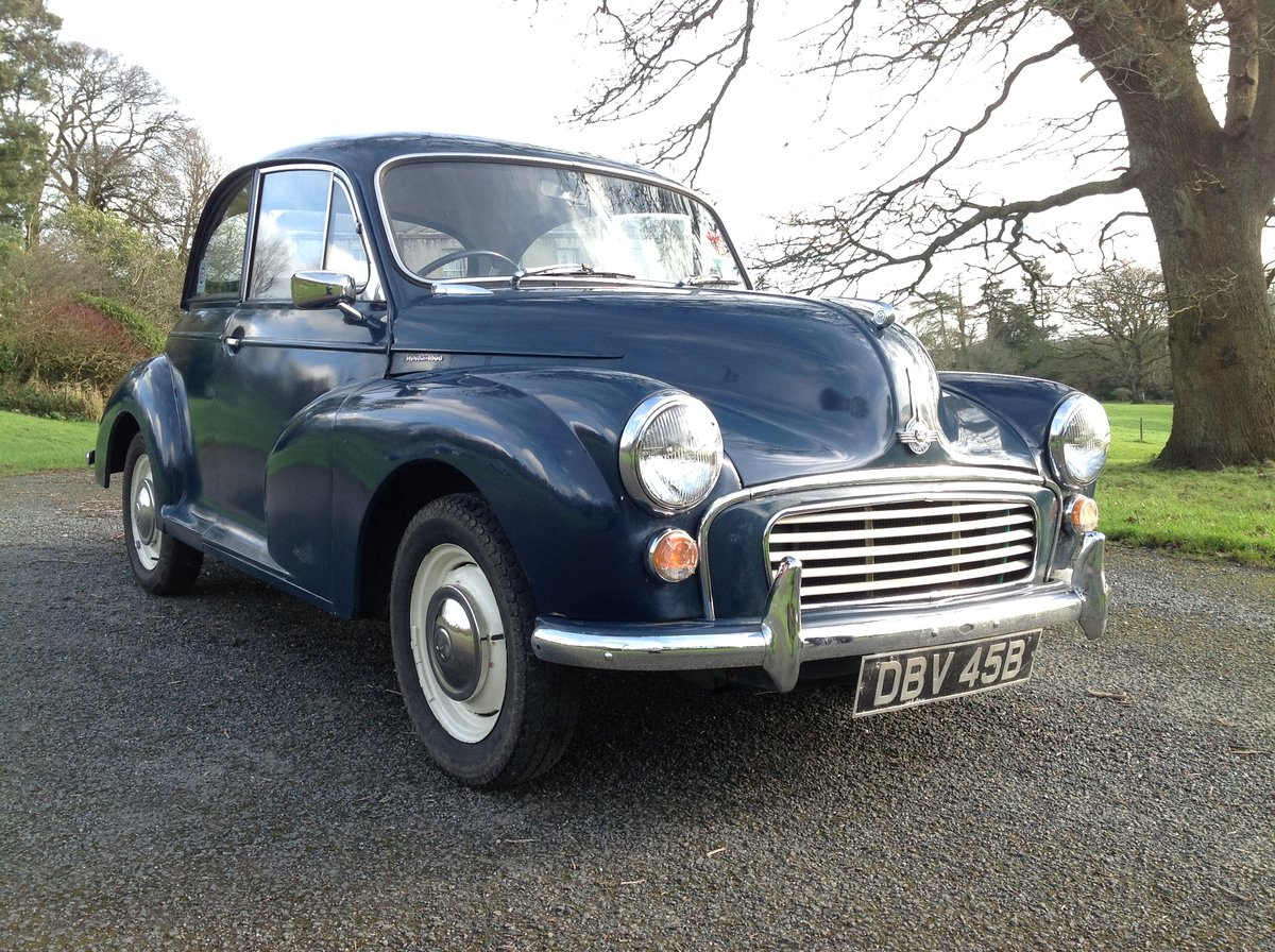 1964 Morris Minor 2 Door  For Sale (picture 2 of 5)