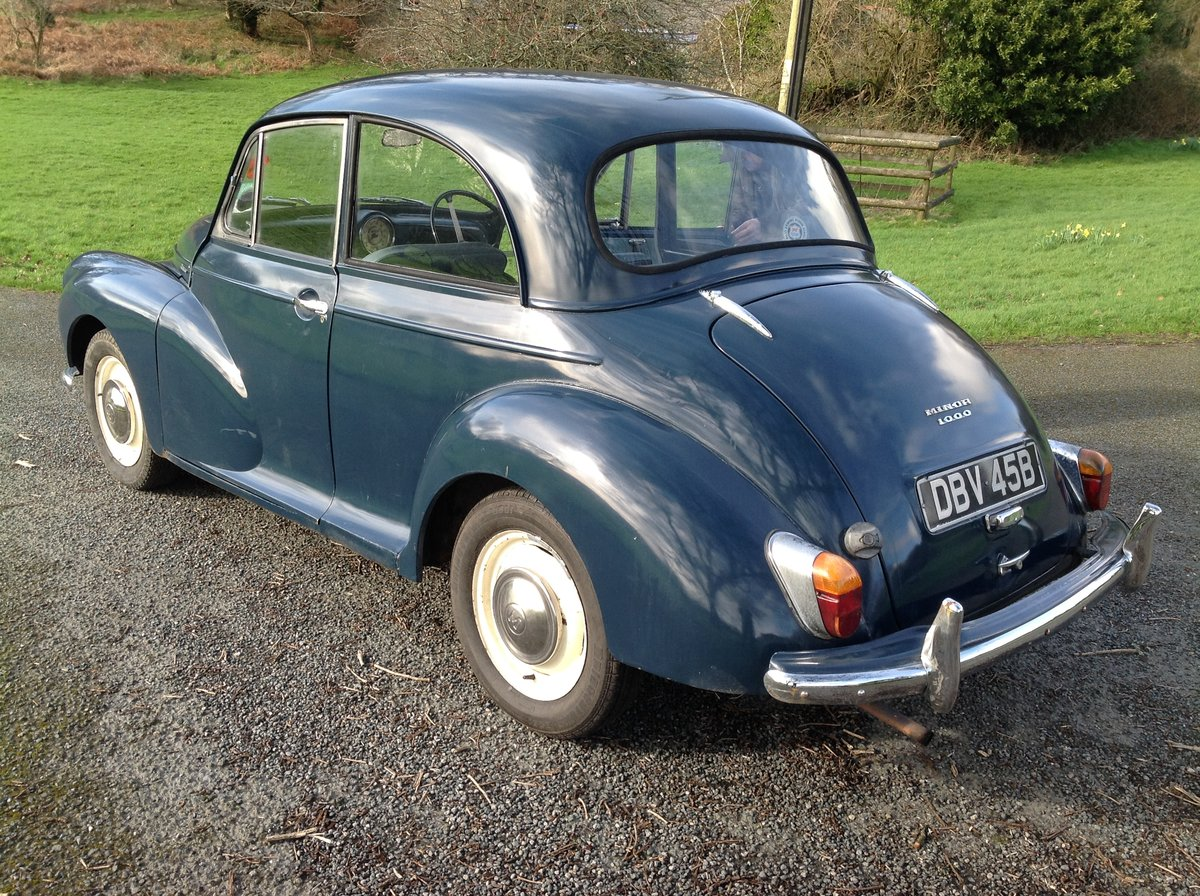 1964 Morris Minor 2 Door  For Sale (picture 5 of 5)