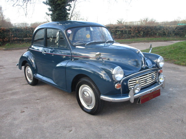 1964 Morris Minor 1000 (Debit Cards Accepted & Delivery) SOLD (picture 1 of 6)