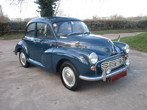 1964 Morris Minor 1000 (Debit Cards Accepted & Delivery) SOLD